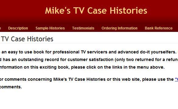 mike's tv repair