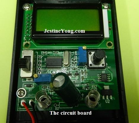 review jingyan m6013 autoranging digital capacitance meter circuit board