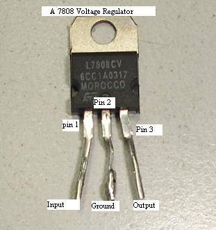 7808 voltage regulator ic