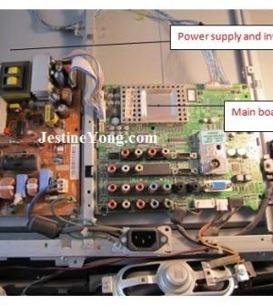 lcd tv repair samsung