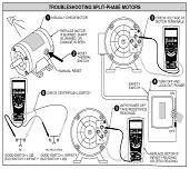 troubleshooting motor capacitor