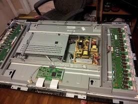 lcd tv board repair
