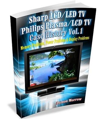 sharp tv repair book
