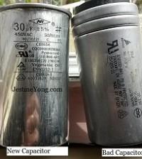 aircond starting capacitor