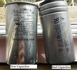 aircond starting capacitor