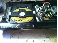 dvd repairing