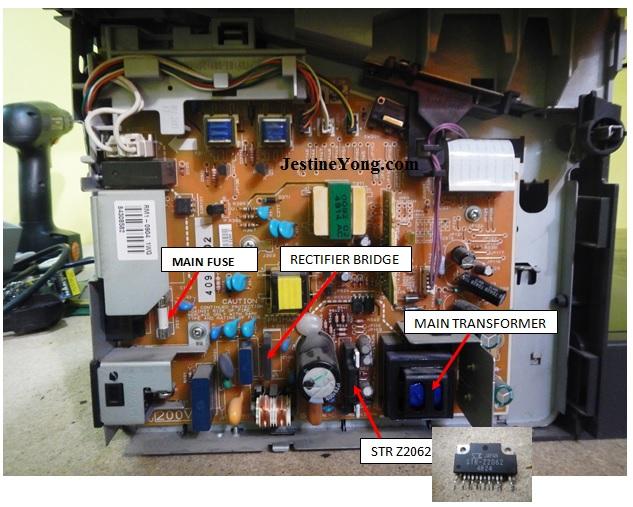 hp 3030 laserjet repair