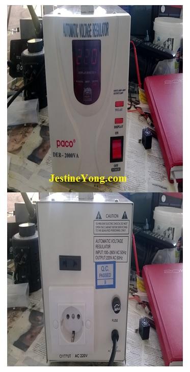 automatic voltage regulator repair