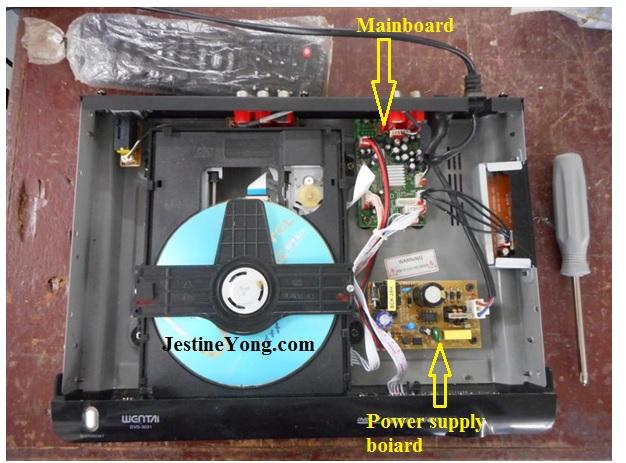 dvd player repairs