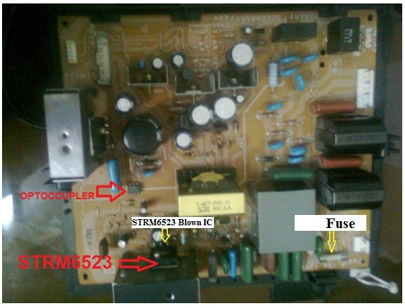 SONY MONITOR REPAIR STRM6523
