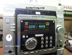 SINGER DVD PLAYER REPAIR