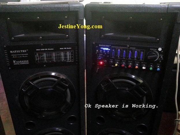 amp speaker repair