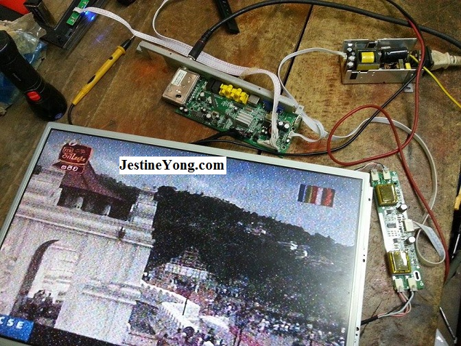 LCD tv no channel repair