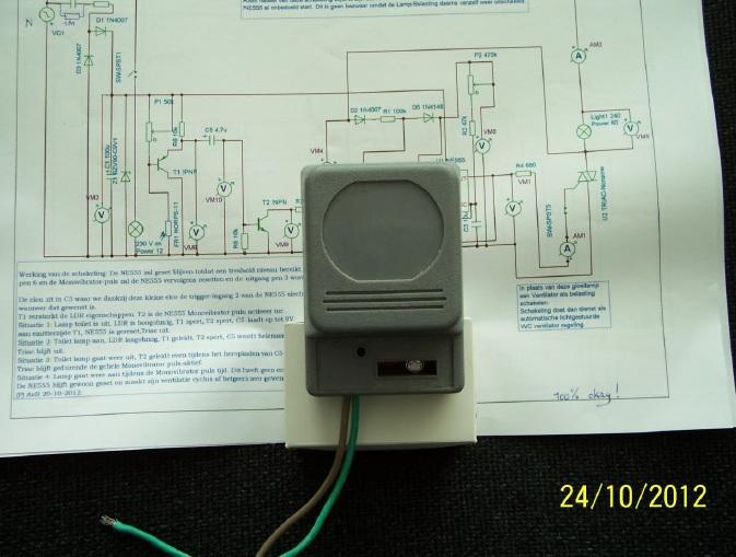fan controlled regulator