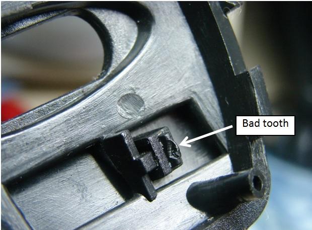 mouse repairing