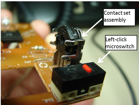 mouse repair switch