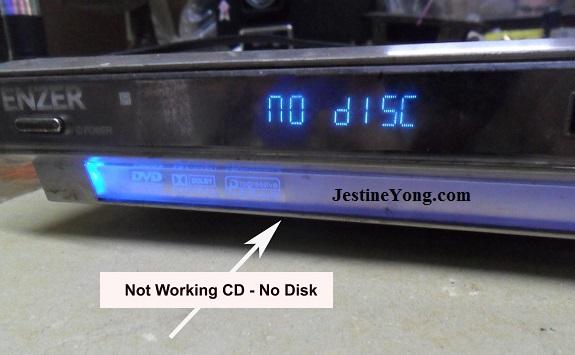 no disk dvd player repair