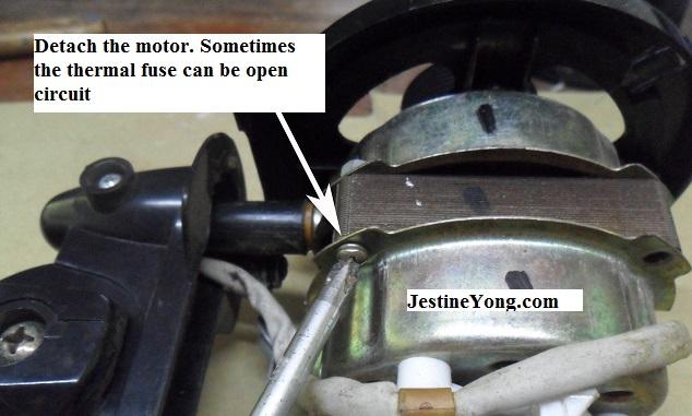 fan motor repair