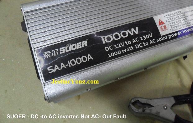 AC inverter repairing