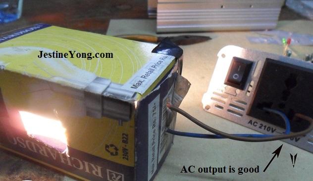 AC INverter repaired