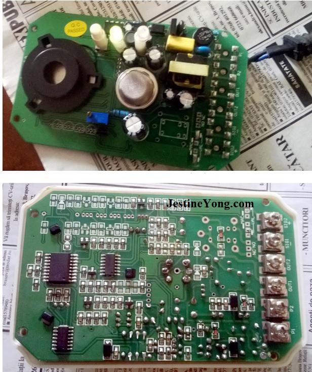gas detector repairing