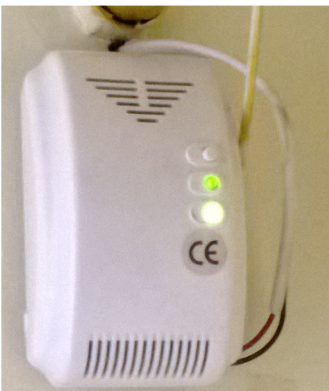 gas detector repaired
