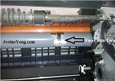 hp 1012 fuser film tear