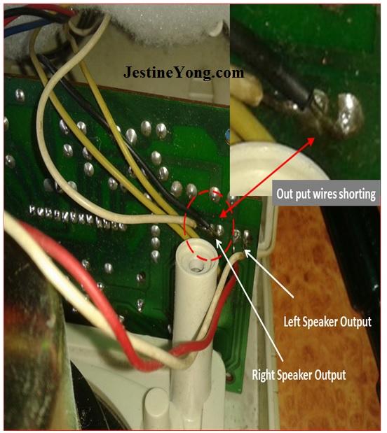 speaker repaired