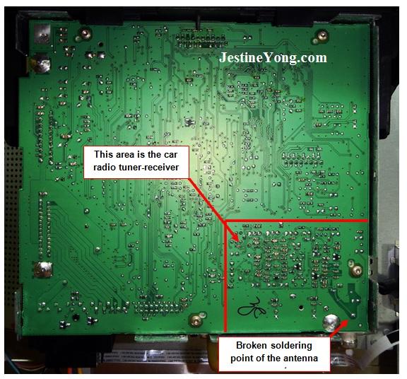 car fm radio repair