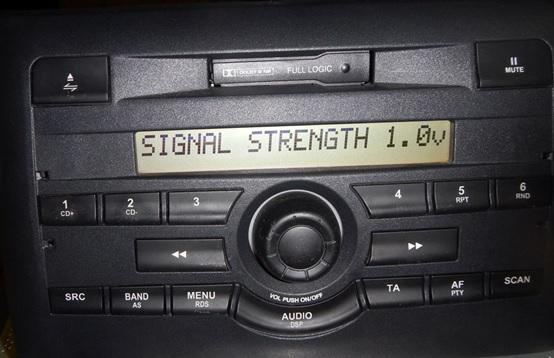 fm signal strength