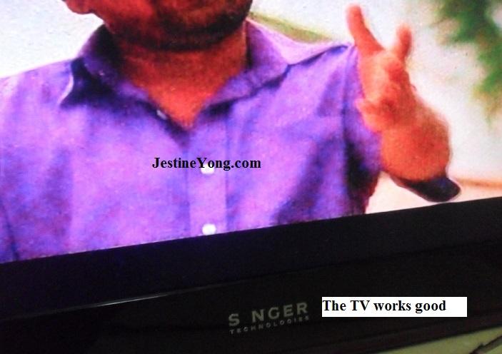 singer tv repair