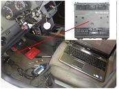 VW Polo 1.4D year 2003 9N1 car computer network got crazy repair manual