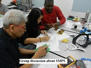 group discussion electronics