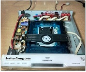 Vinverth DVD player No Eject problem solved and amplifier added
