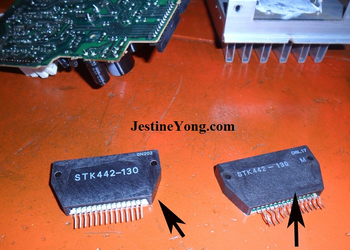 stk442-130 ic replacement.