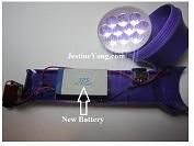 led torch light repair