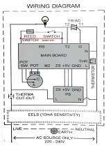 water heater diagram