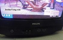 """philips 21 """" crt tv repair"""
