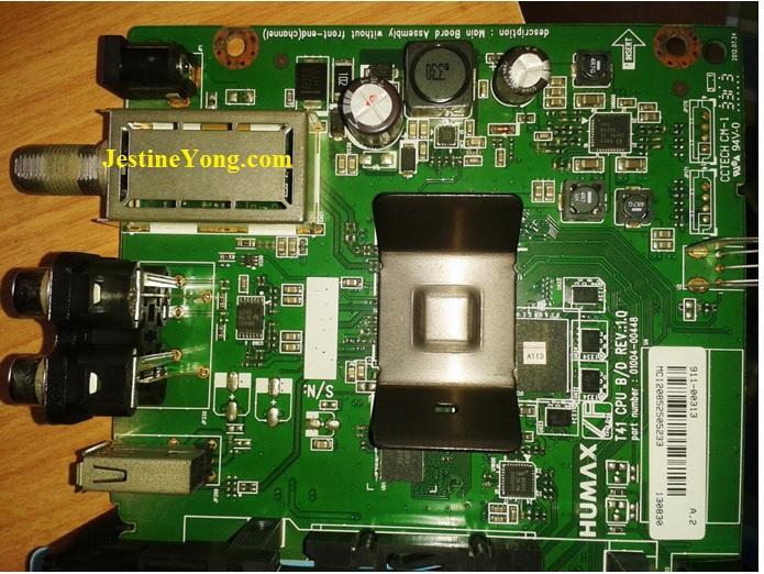 set top box circuit board