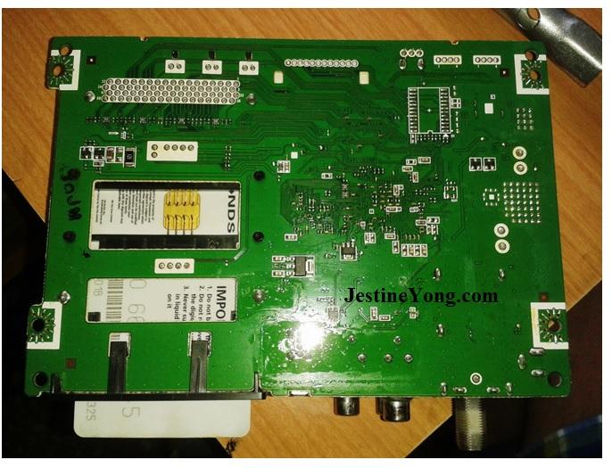 set top box circuit board repair