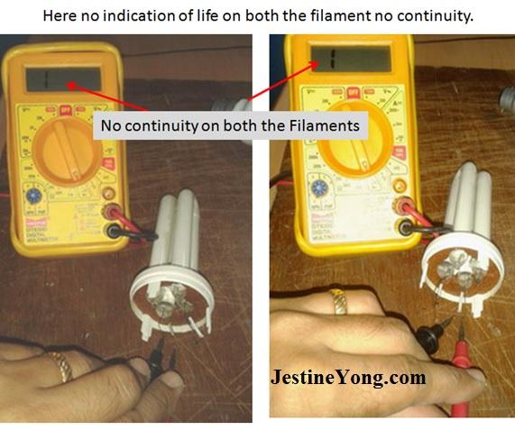 repair old cfl bulb
