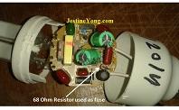 how to repair a dead cfl bulb
