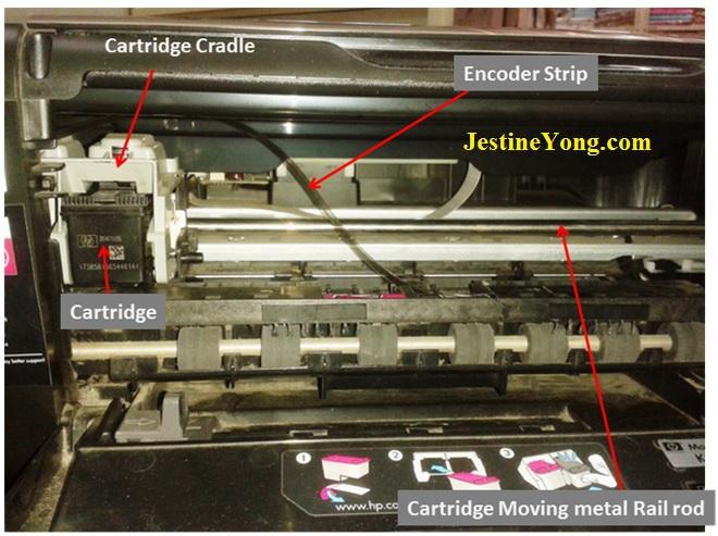 how to repair printer hp deskjet1