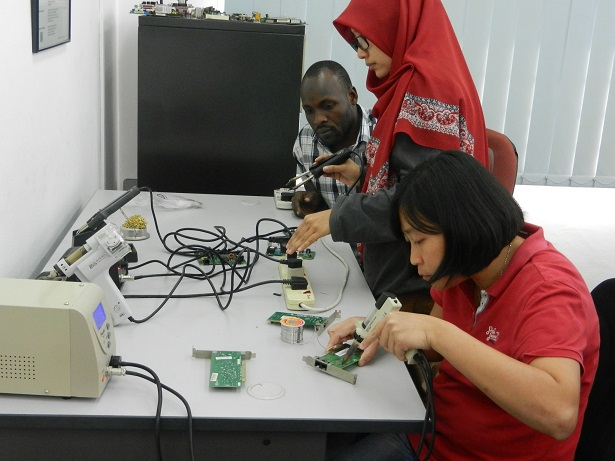 electronics training and repair