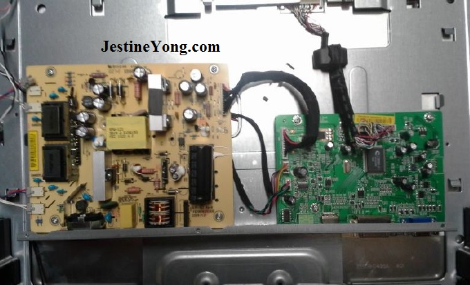 how to repair lcd monitor flicker