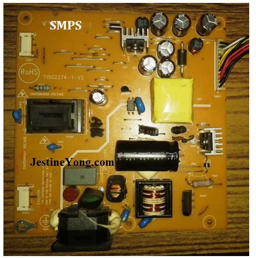 lcd monitor repair circuit board