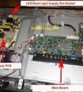 led tv no picture repair