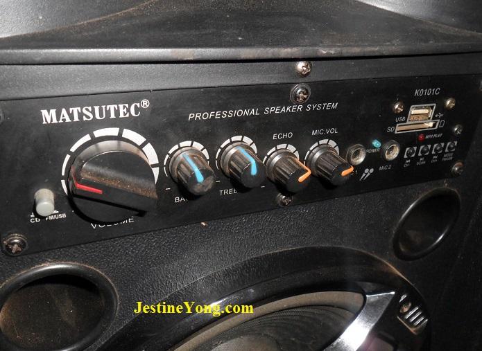 matsutec active speaker repair