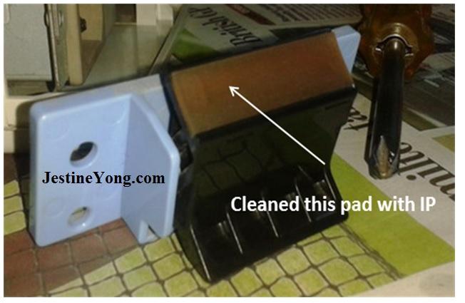 paper pick up pad unit