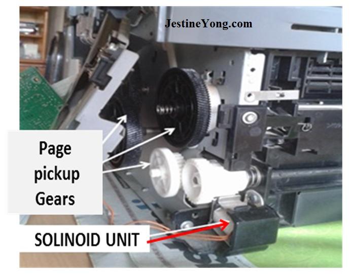 printer solenoid